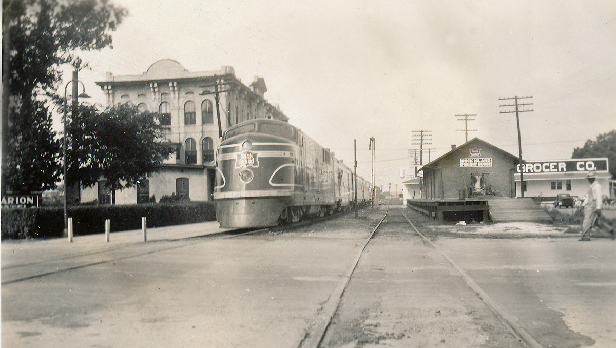 Which The Marion Hotel Served As A Penger Station Remains To Be Determined Missouri Pacific S Last Train Service Through Forrest City Was